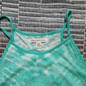 American Eagle Outfitters Tops - Mint Tie die tank